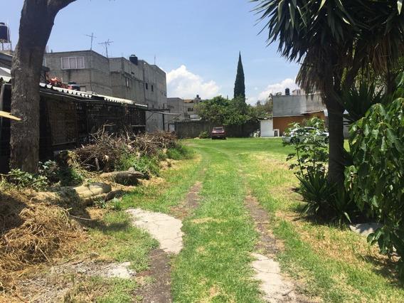 Venta Terreno 3280 Mts2 Uso De Suelo Hab/comer Coyoacán, Ideal P Desarrollador!!