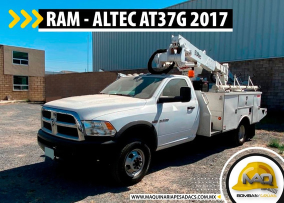Grua Canastilla - Dodge Ram 4000 - Altec At37g 2017