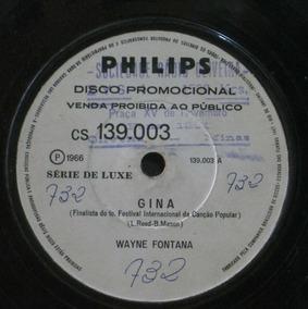 Wayne Fontana Compacto 7 Gina 1966