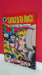 Hq Epopéia Ebal/1967 Sargento Rock Nº3 Histórias De Guerra !