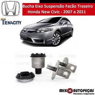Bucha Eixo Suspensão Facão Traseiro New Civic 2007/.tenacity