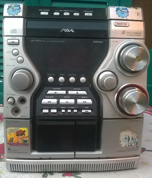 Micro System Aiwa Mod:cx-jn3. Não Funciona.