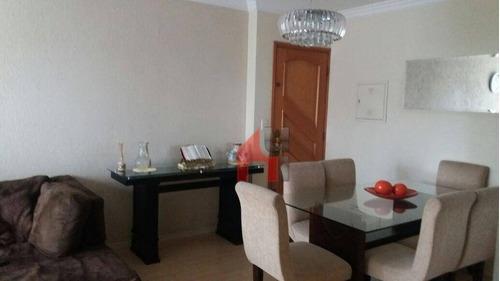 Apartamento À Venda, 74 M² Por R$ 500.000,00 - Jaguaribe - Osasco/sp - Ap0143