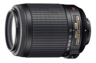 Lente Nikon 55-200mm F / 4-5.6g Ed Si Af-s Dx Vr