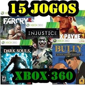 15 Jogos Midia Digital Xbox 360 E Xbox One