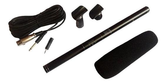 Microfone Shotgun Msg36 Uni-direcional Soundvoice Original
