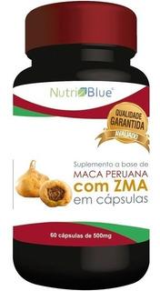 Suplemento Maca Peruana Com Zma - Nutri Blue