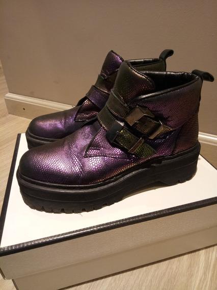 Borcegos Botas Zapatos Sarkany Usados