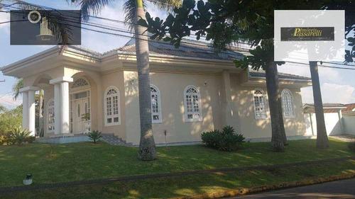 Casa Com 4 Dormitórios À Venda, 545 M² Por R$ 2.700.000,00 - Condomínio Marambaia - Vinhedo/sp - Ca0419