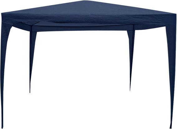Tenda Gazebo Pop 3,00 X 3,00 M Azul Bel Lazer