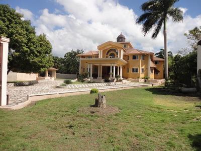 Hermosa Casa De Venta En Gurabo,santiago