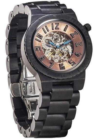 Relógio Jord Dover Automático Ebony & Copper