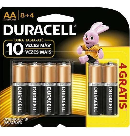Pilha Alcalina Duracell Aa Kit Com 120 Unidades Promoção