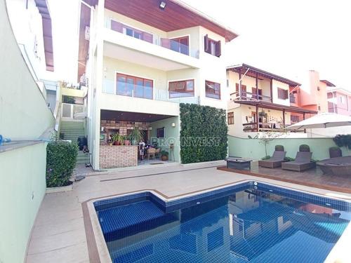 Casa Com 4 Dormitórios À Venda, 370 M² Por R$ 1.750.000,00 - Granja Viana - Cotia/sp - Ca18543