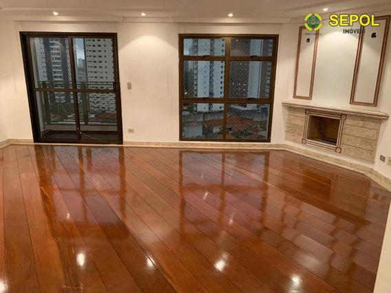 Apartamento Com 3 Dormitórios Para Alugar, 190 M² Por R$ 2.500/mês - Vila Regente Feijó - São Paulo/sp - Ap0516