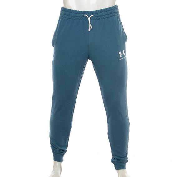 Pantalon Sportstyle Terry Navy Under Armour