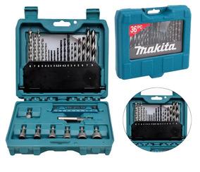 Kit Makita De Brocas Bits Soquete C /maleta 36 Peças P-90320