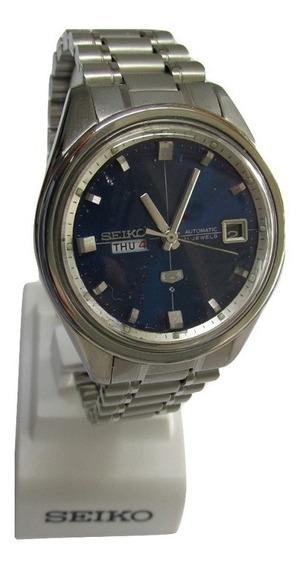 Relógio Seiko 5 Automático Masculino Aço Modelo 6119-8163