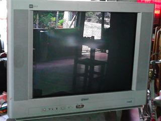 Televisor Daka 22 (para Reparación) Con Control Remoto.