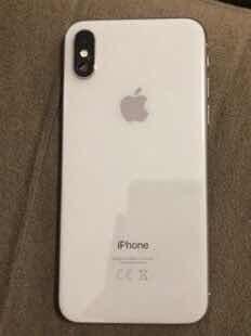 Vendo iPhone X Branco, 64gb, Usado, Em Ótimo Estado