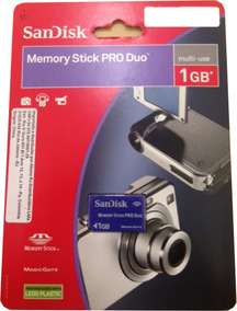 Memory Stick Sandisk Pro Duo 1gb
