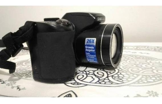 Câmera Semi Profissional Samsung Wb100 Estado De Nova