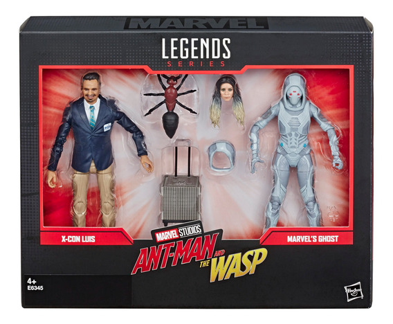 Marvel 80 Aniversario Ant Man & The Wasp 2 Pack