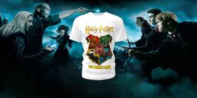 Camiseta Camisa Blusa Personalizada Harry Potter Infantil