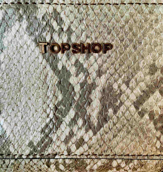 Monedero Piel De Serpiente Topshop Zara