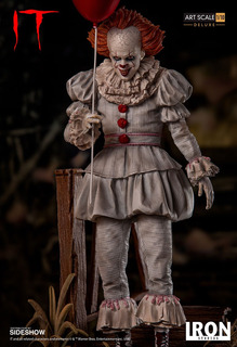Iron Studios Pennywise It Deluxe Art Scale