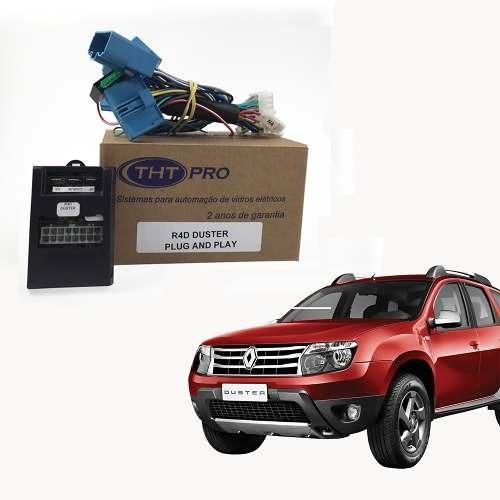 Módulo Subida Vidro Renault Duster Até 2014 Plug And Play