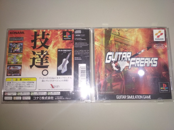 Jogo Ps1 Original - Guitar Freaks - Jap