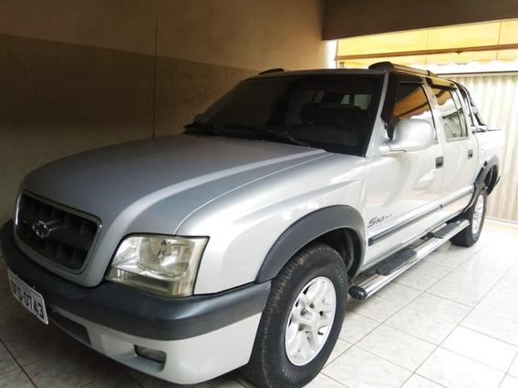 S10 4x4 Diesel - Cab. Dupla - Muito Conservada