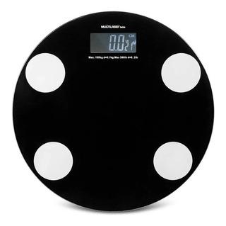 Balança Digital Vidro Banheiro Multilaser 180kg C/ Garantia
