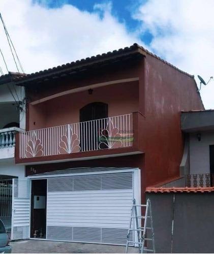 Imagem 1 de 10 de Sobrado Com 2 Dormitórios À Venda, 130 M² Por R$ 350.000 - Jardim Guapituba - Mauá/sp - So1702
