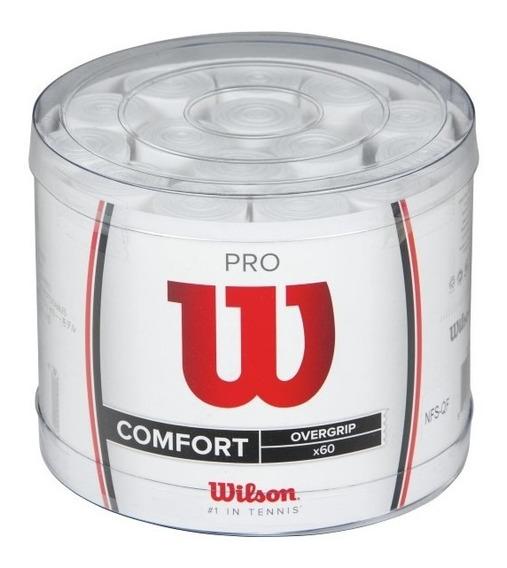 Grip Unisex Wilson - Pro Overgrip 60bucket Blanco - Tenis