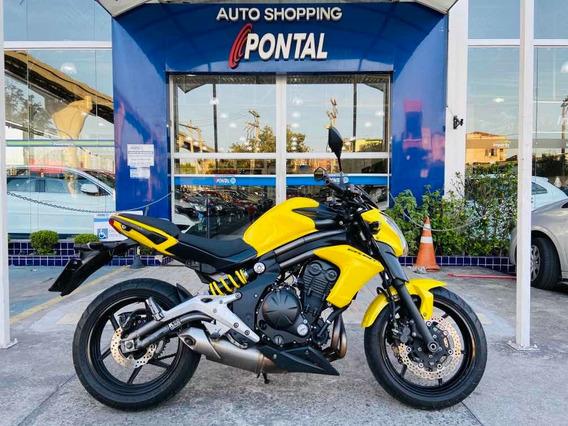 Kawasaki Er 6n Ano 2013 Impecavel Baixo Km Aceito Troca