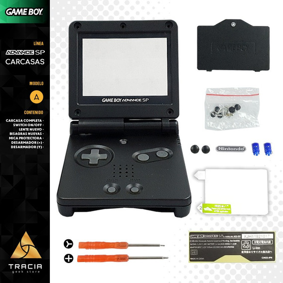 [ Carcasa Gameboy Advance Sp ] Kit Completo Triwing | Tracia