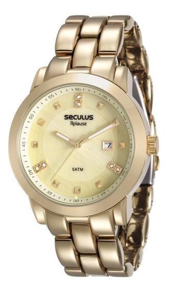 Relógio Seculus Feminino 20422lpsvda1