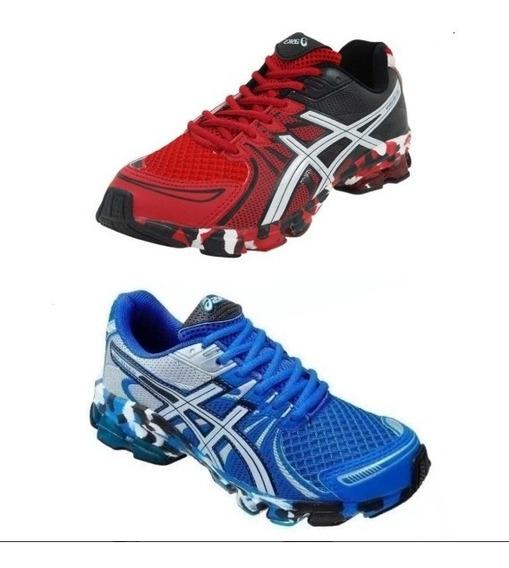 Combo C/2 Tenis Esportivo Masculino & Feminino - Academia - Caminhada Corrida Leve D+