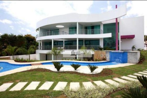 Casa À Venda, No Aldebaran, Com 4 Quartos / 4 Suítes, Piscina, Boate E Com Tudo O Que Você Imaginar, Com 1.200 M², Por R$ 3.500.000,00 - Ca0001