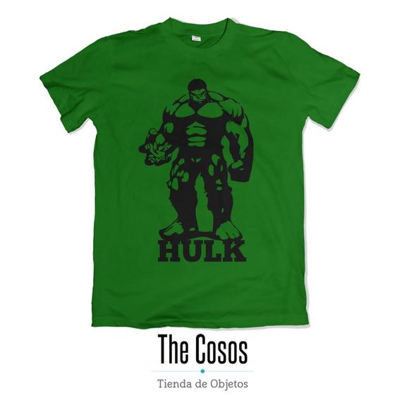 Remera Algodón Diseño Avengers Hulk Vinilo Premium