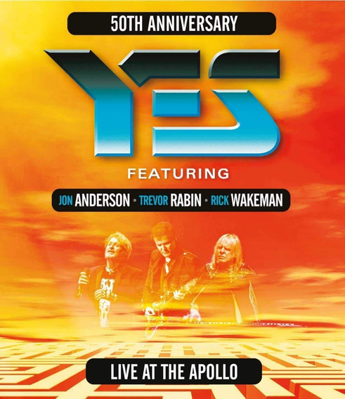 Yes - Live At The Apollo - Blu Ray Importado, Lacrado