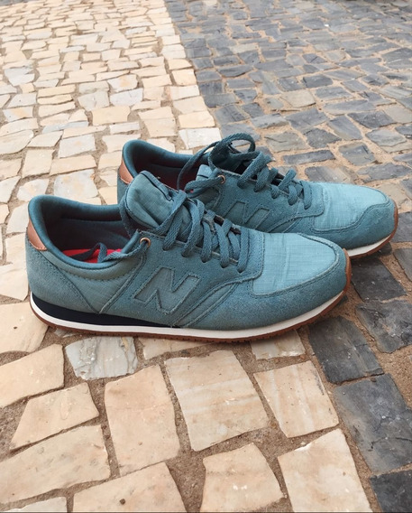 Tênis New Balance 420 Verde E Rose Gold