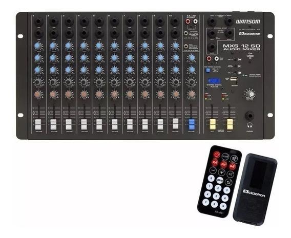 Mesa Ciclotron 12 Canais Mxs 12 Sd Stereo