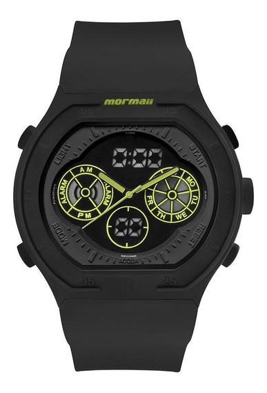 Relógio Masculino Mormaii Lumi Preto - Original