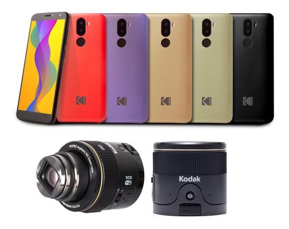 Kodak Smartway L1 Rojo +sl10 Carcasas De Regalo