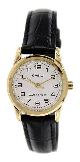 Relógio Casio Collection Analógico Feminino Ltp-v001gl-7budf