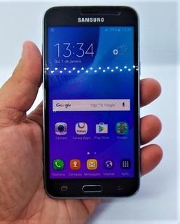 Celular Samsung Galaxy J3 2016 Duos Chip 8gb - Sm-j320/ds