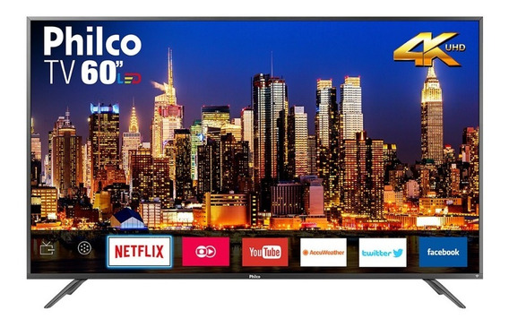 Smart Tv Led Ultra Hd 4k 60 Polegadas Philco Ptv60f90dswns